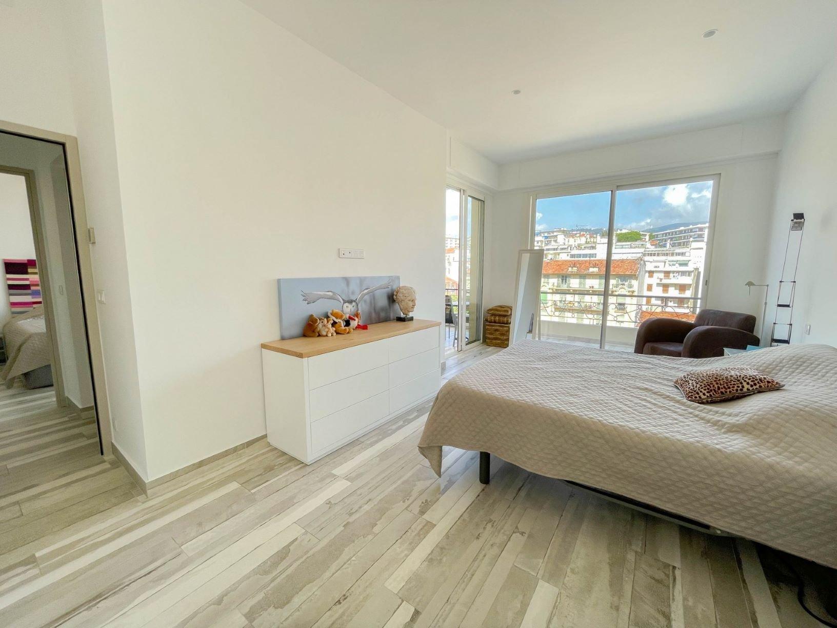Nice Liberation , 4/5 P avec terrasses et vue panoramique