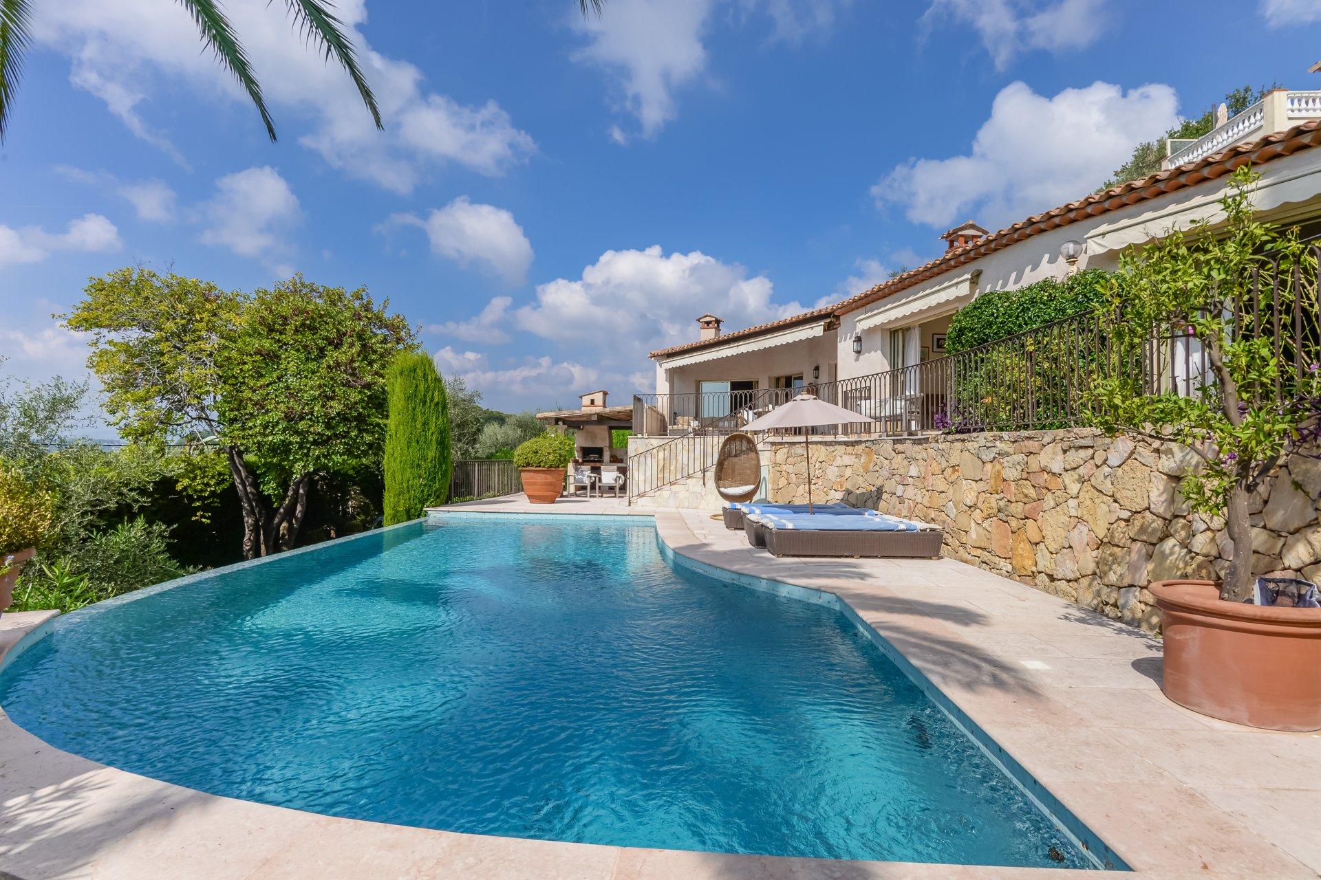 Maison spacieuse, piscine, garage, vue sur mer, proche village Cannet