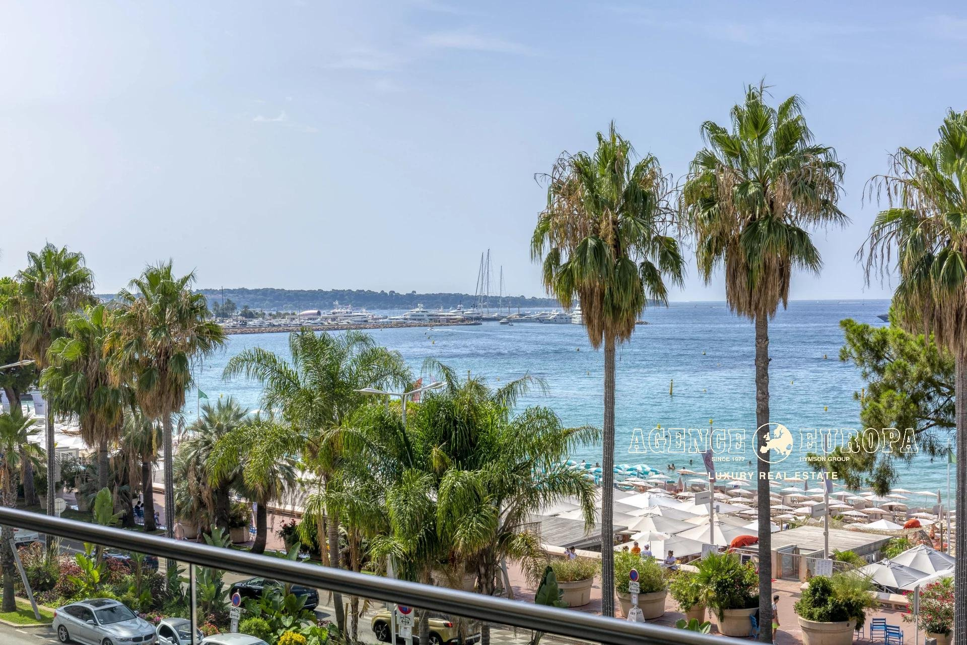 CANNES CROISETTE - PANORAMIC SEA VIEW