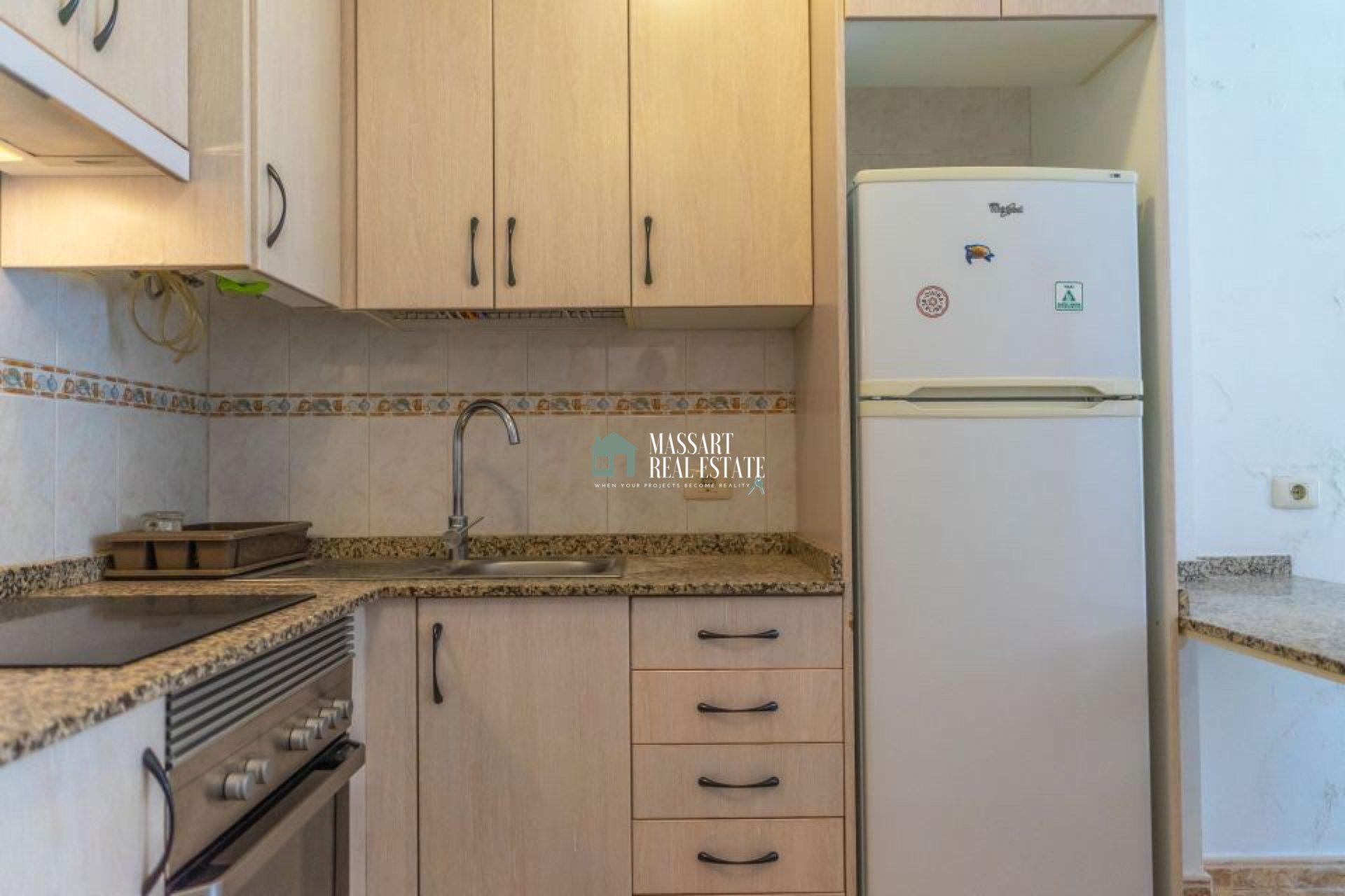 Apartamento recientemente renovado y completamente amueblado ubicado en una céntrica zona de Guargacho.
