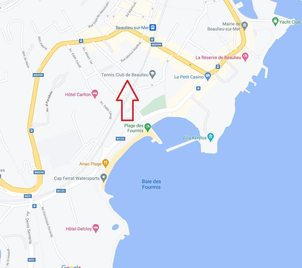 Beaulieu-sur-mer - Garage fermé dans résidence sécurisée