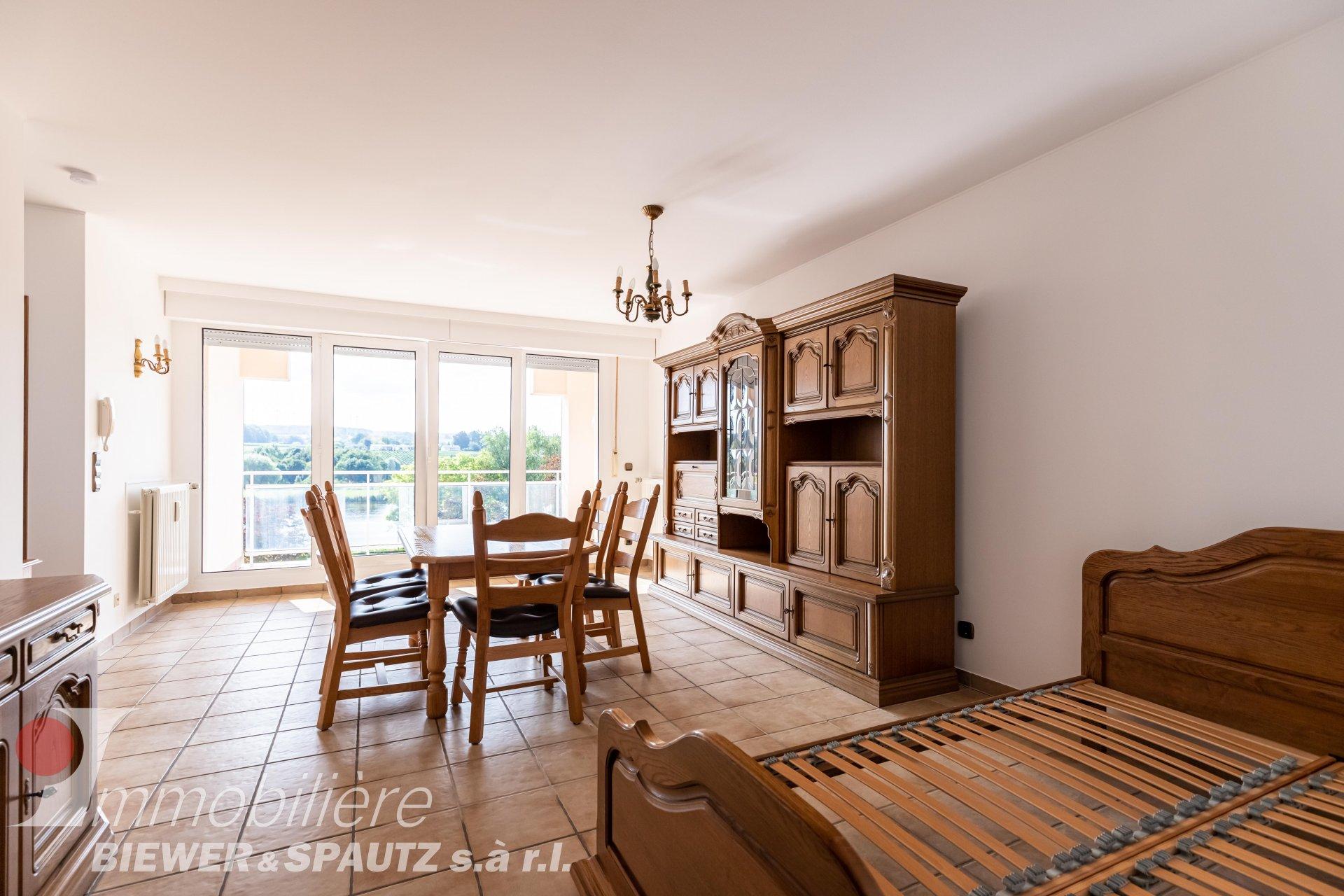 ZU VERMIETEN -  nicht möbliertes Studio-Apartment in Remich