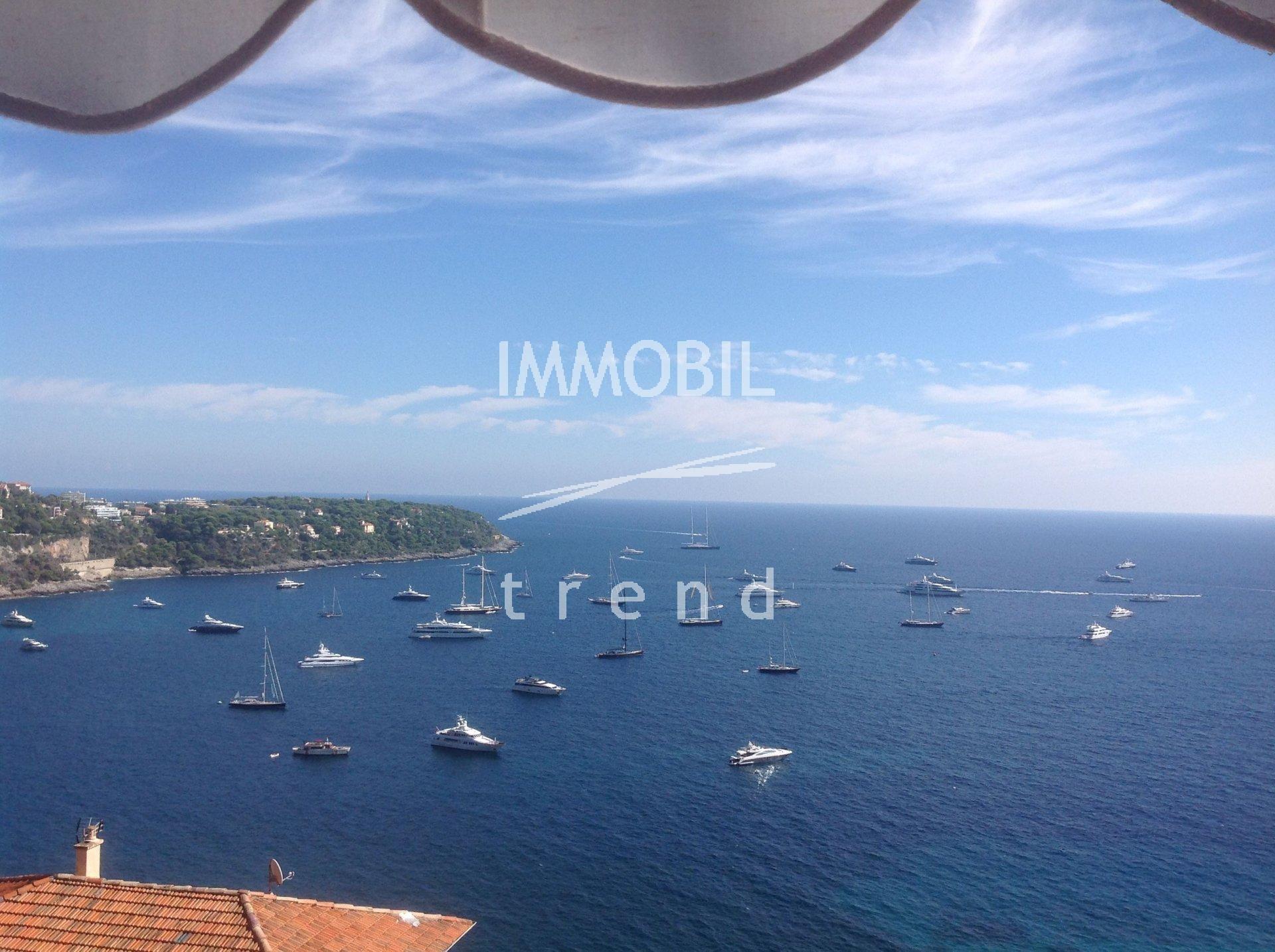 ESCLUSIVA RCM GOLFE BLEU - bilocale vista mare panoramica e terrazza, in perfette condizioni