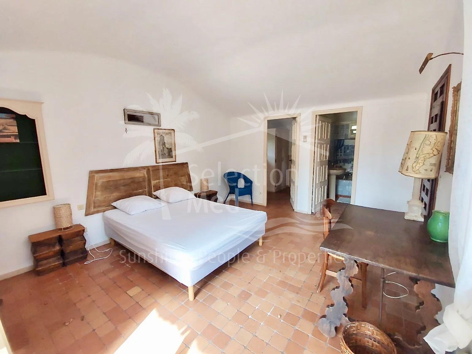 Character property in Antibes