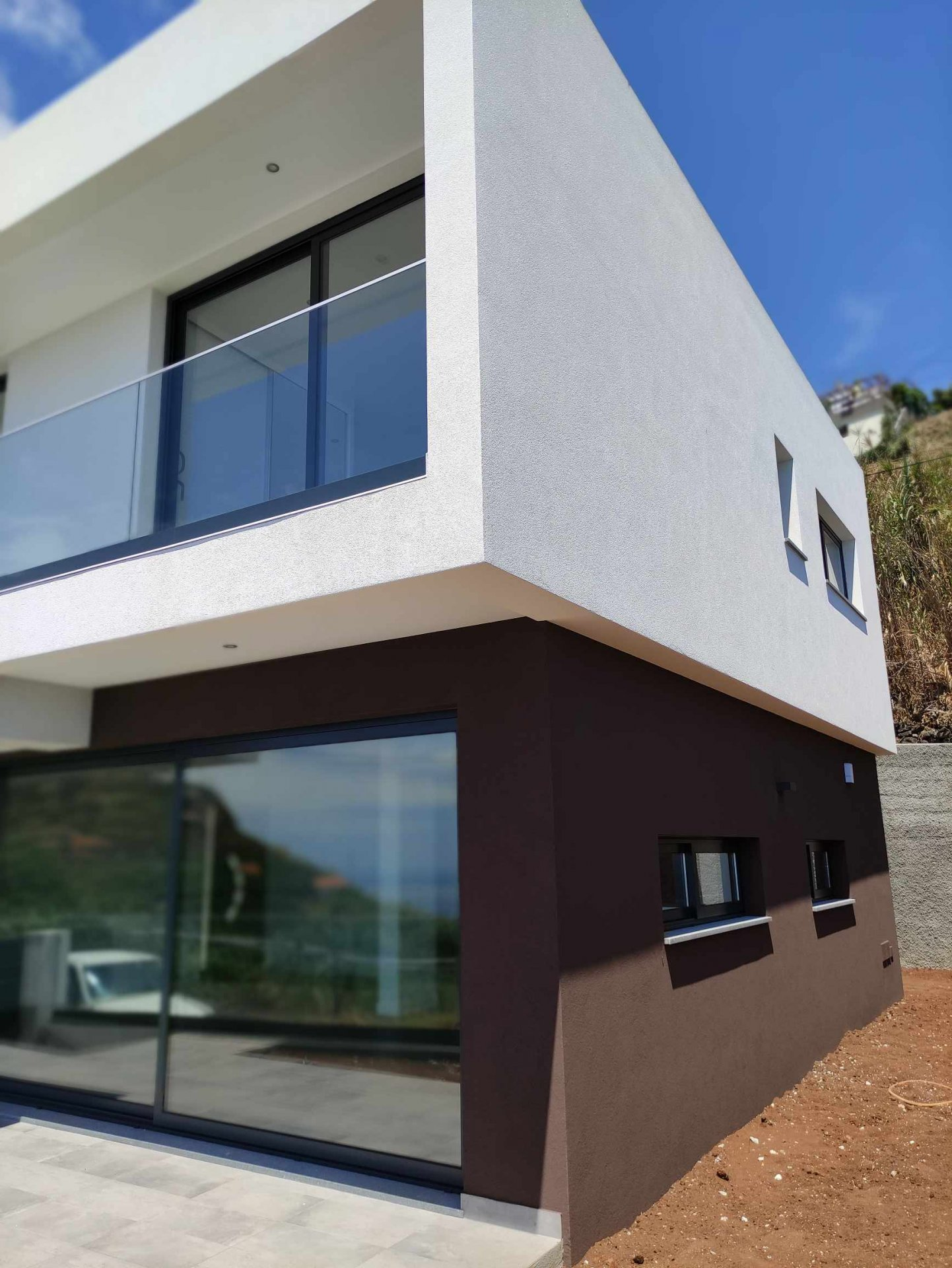 New house with panoramic ocean views located in Ponta do Sol