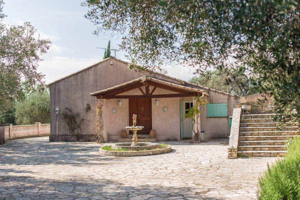 Montauroux: Villa, gelijkvloers, mooi uitzicht