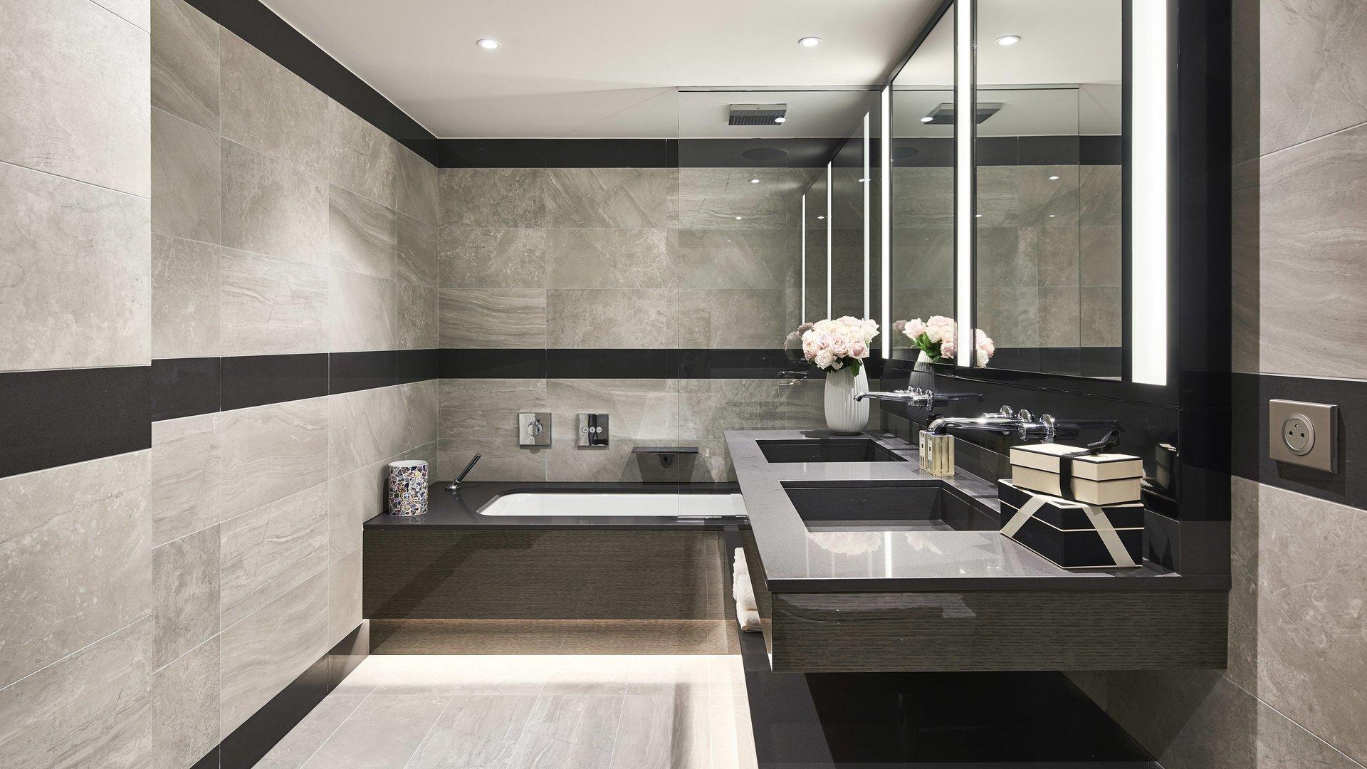 Cap d'Antibes -  Lekker ny 3-roms 88m2 leilighet med stor terrasse i eksepsjonell residens