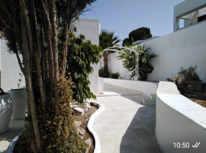 Location d'une villa avec piscine à Gammarth supérieur