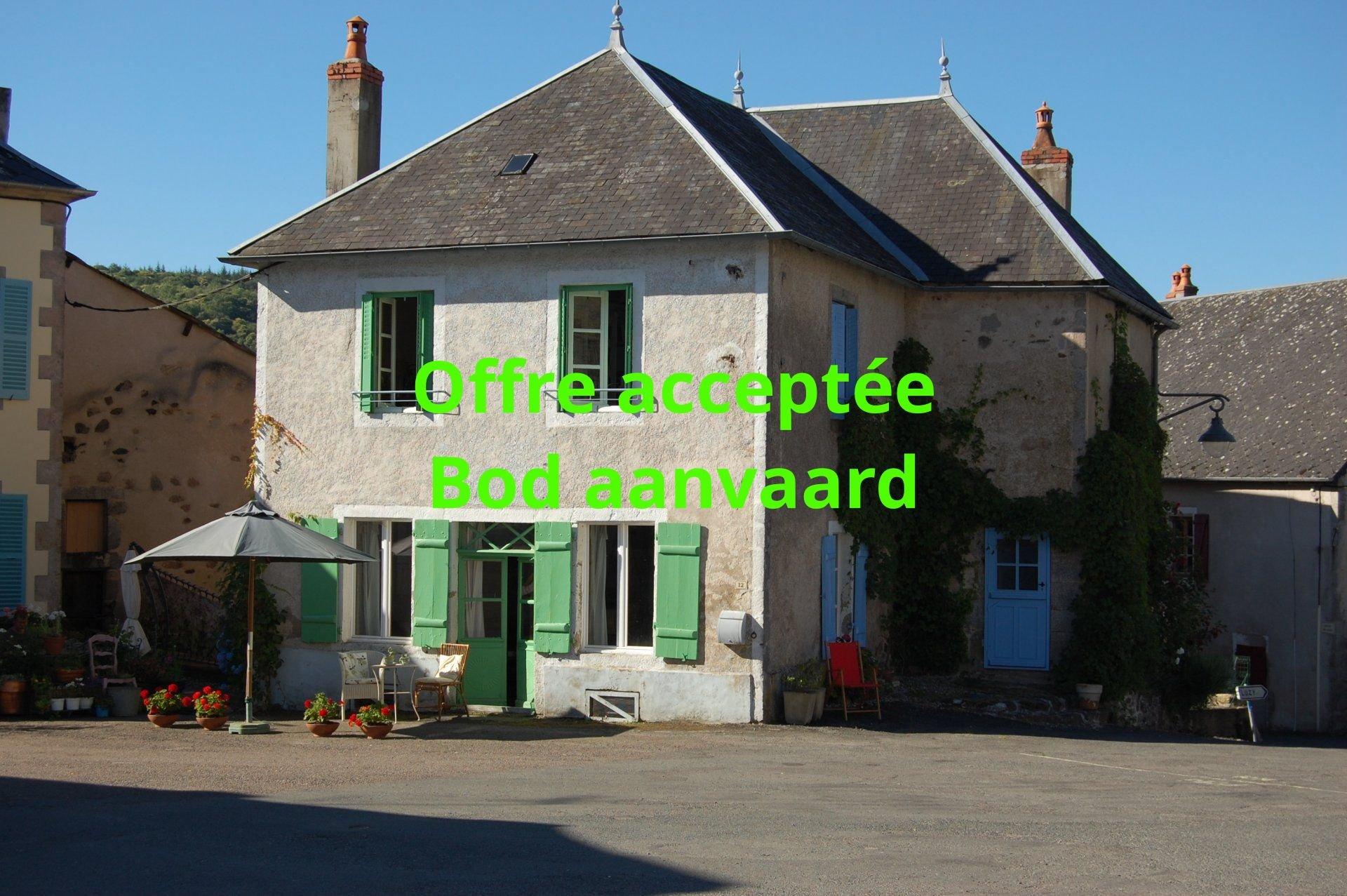 Detached village house for sale Burgundy - South Morvan