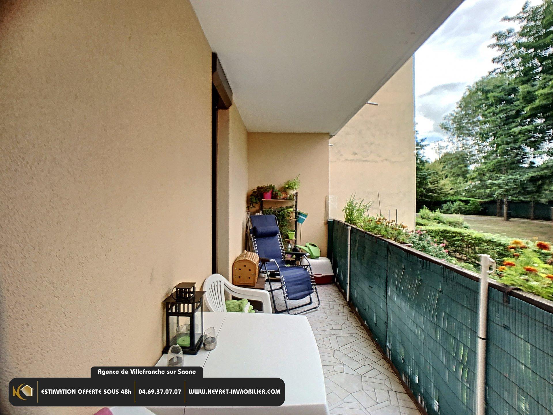 Appartement T4 - Balcon - Gleizé