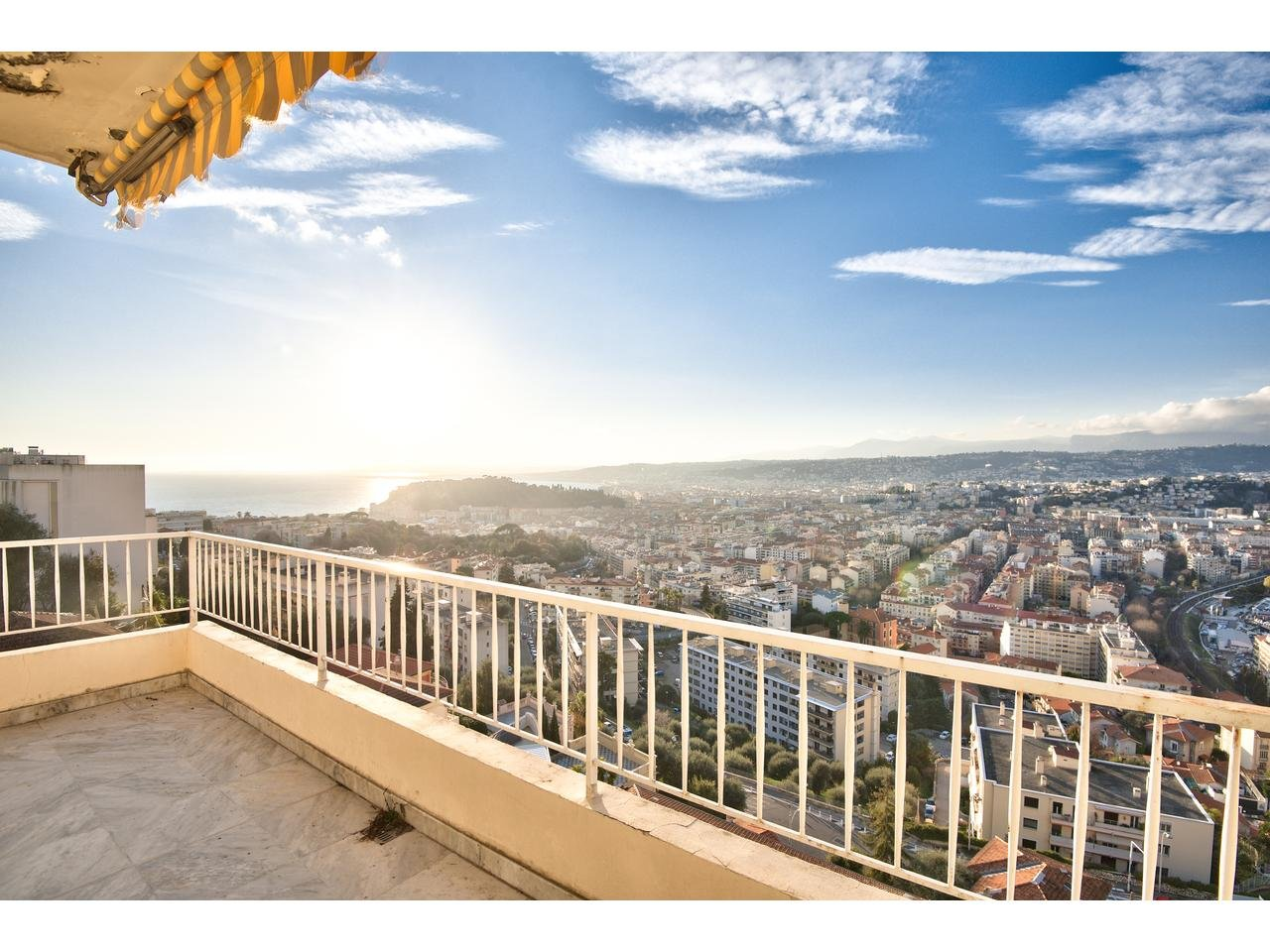 Apartment by Col de Villefranche with views and parking