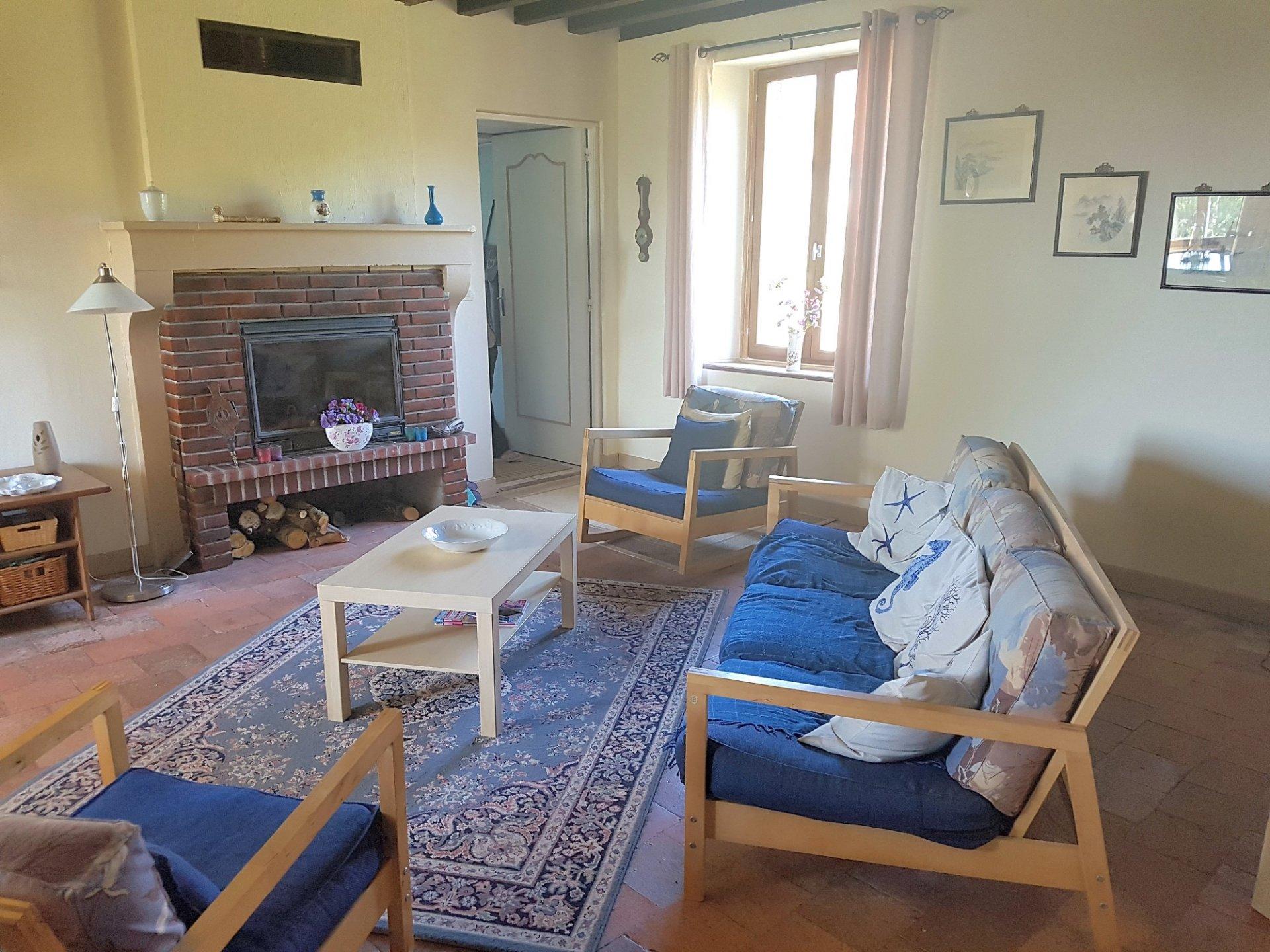 Maison avec belle vue à vendre proche Chaillac, Indre 36