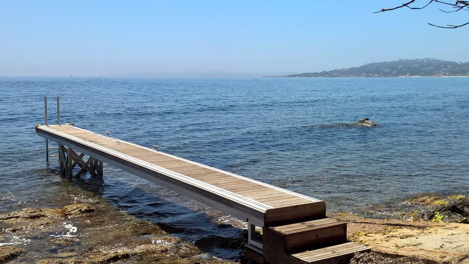 WATERFRONT PROPERTY  AT  SAINTE MAXIME