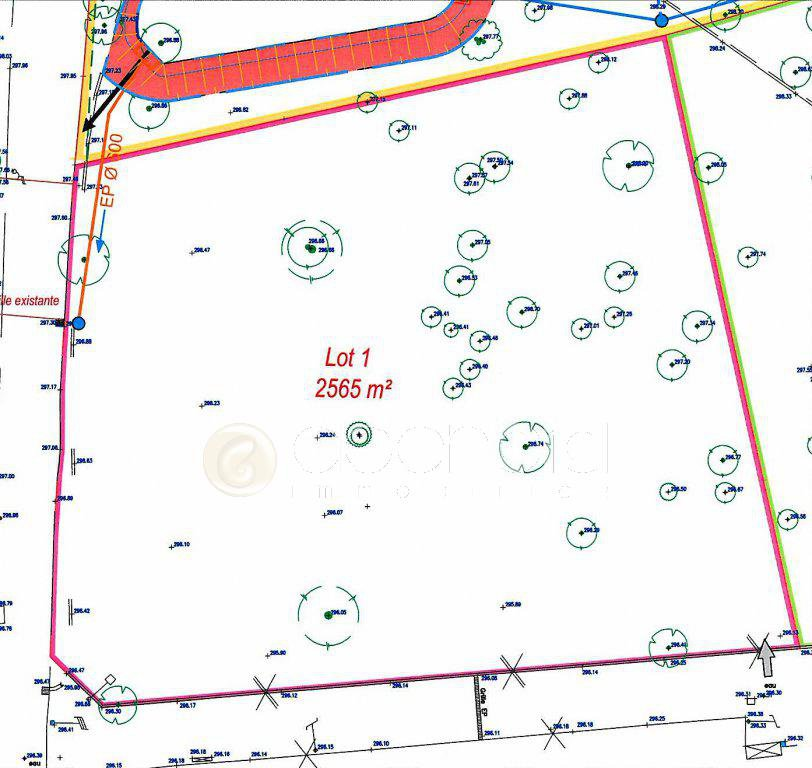 Sale Plot of land - Roquefort-les-Pins