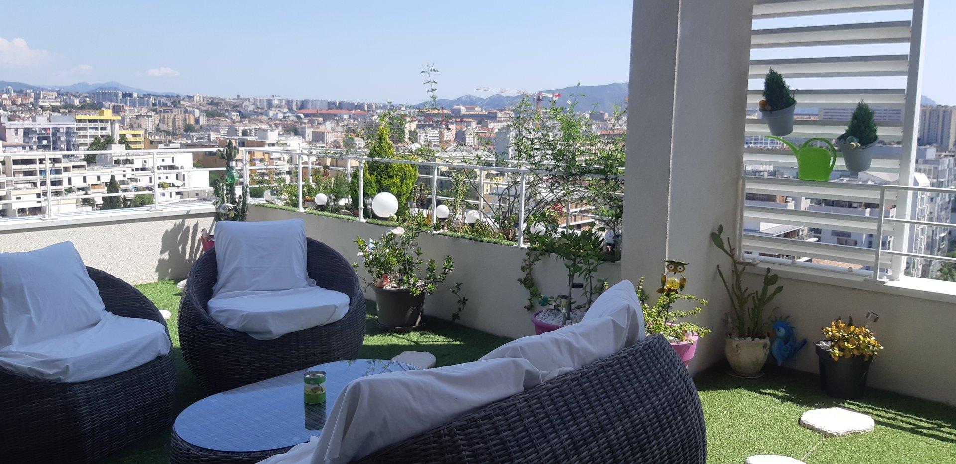 Exceptionnel penthouse en duplex