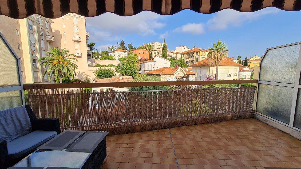 CIMIEZ/CARABACEL, studio with large terrace