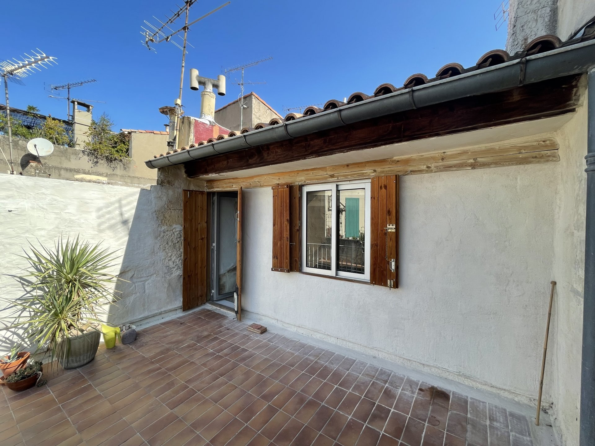 Maison de ville Roquette avec terrasse
