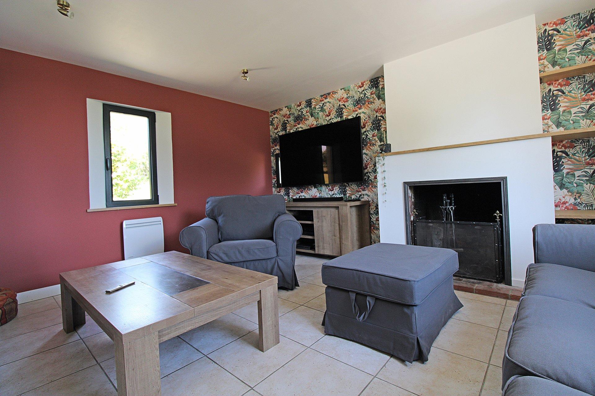 PAYS D'AUGE CALVADOS  Proche de Lisieux Une maison Normande avec un terrain de 1ha4a46ca.de 1haaosn Normande en Livarot une maison des années 30