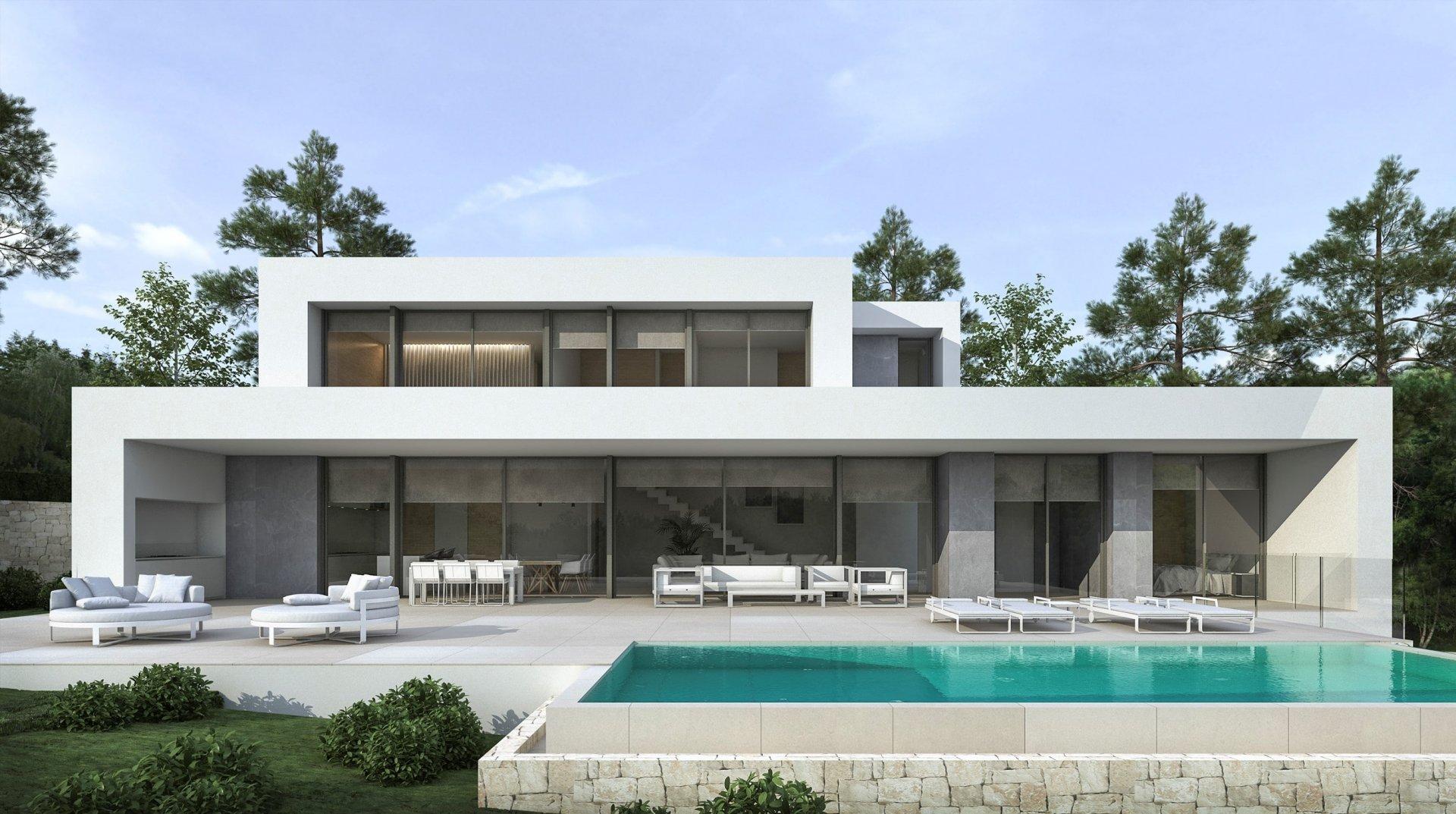 Nouveau projet de construction à Moraira