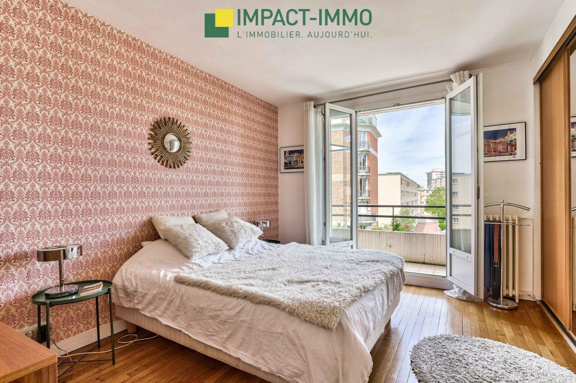 Appartement Colombes 'Jeanne d'Arc' 4 pièces 97 m2, cave et balcon