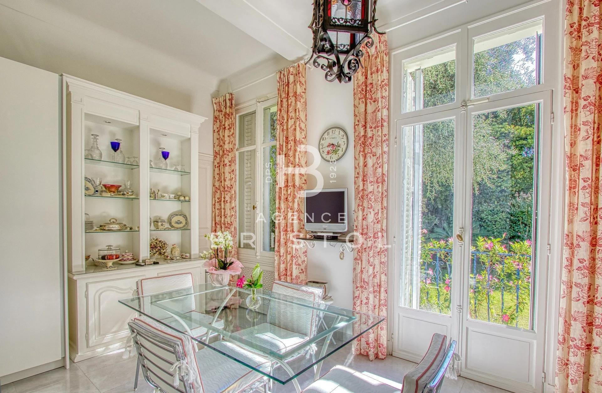 Magnificent Belle Epoque style villa in the heart of Beaulieu sur Mer