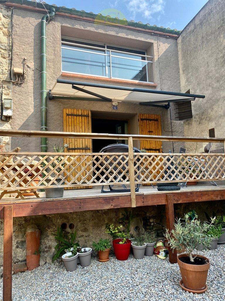 Maison de village 2 Faces avec terrasse
