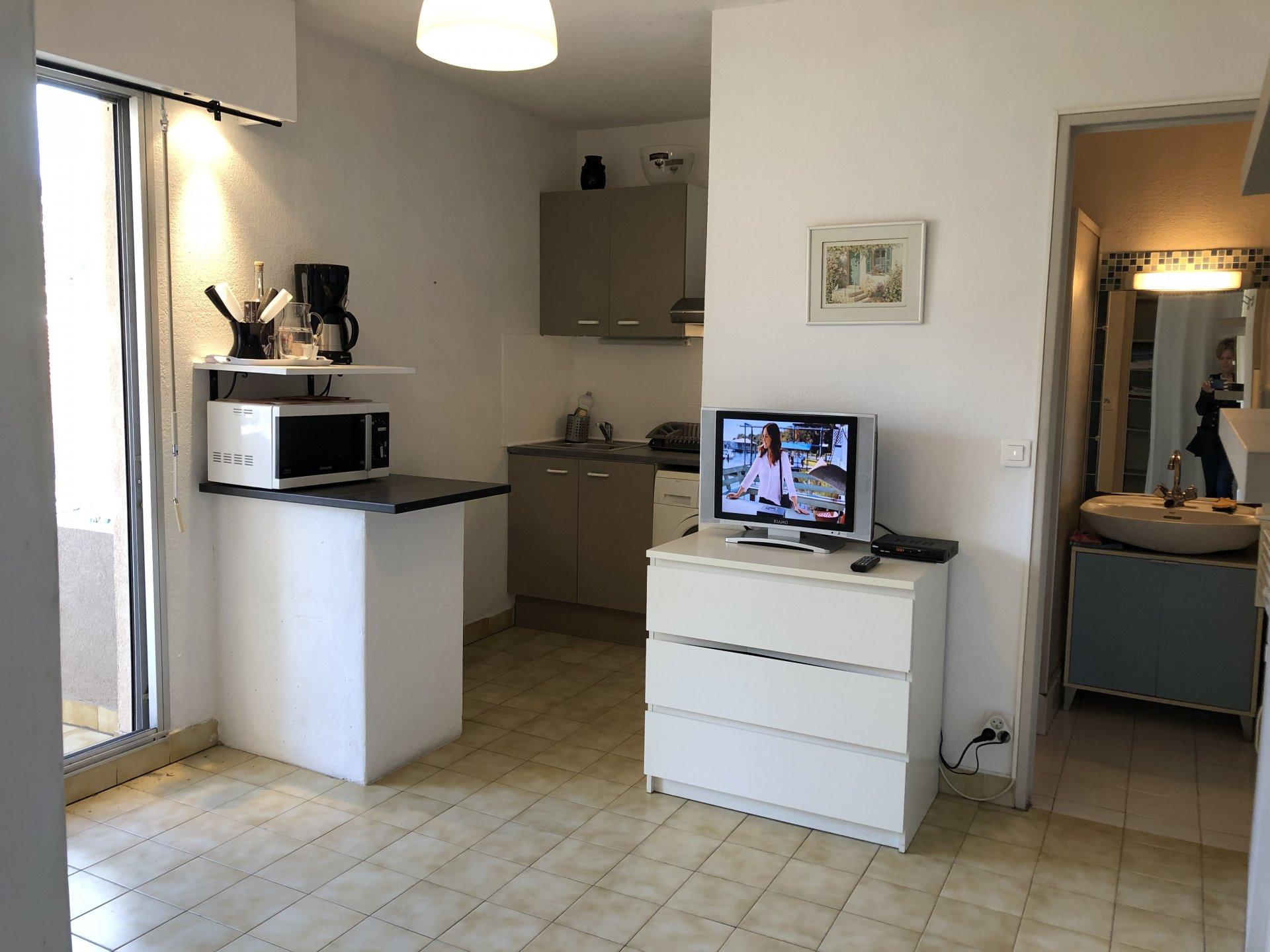 Studio centre ville Cavalaire-sur-mer