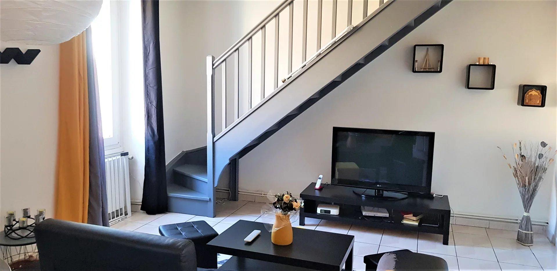 Lorette - Appartement Duplex 5 pièces 87m2 avec terrasse et balcon