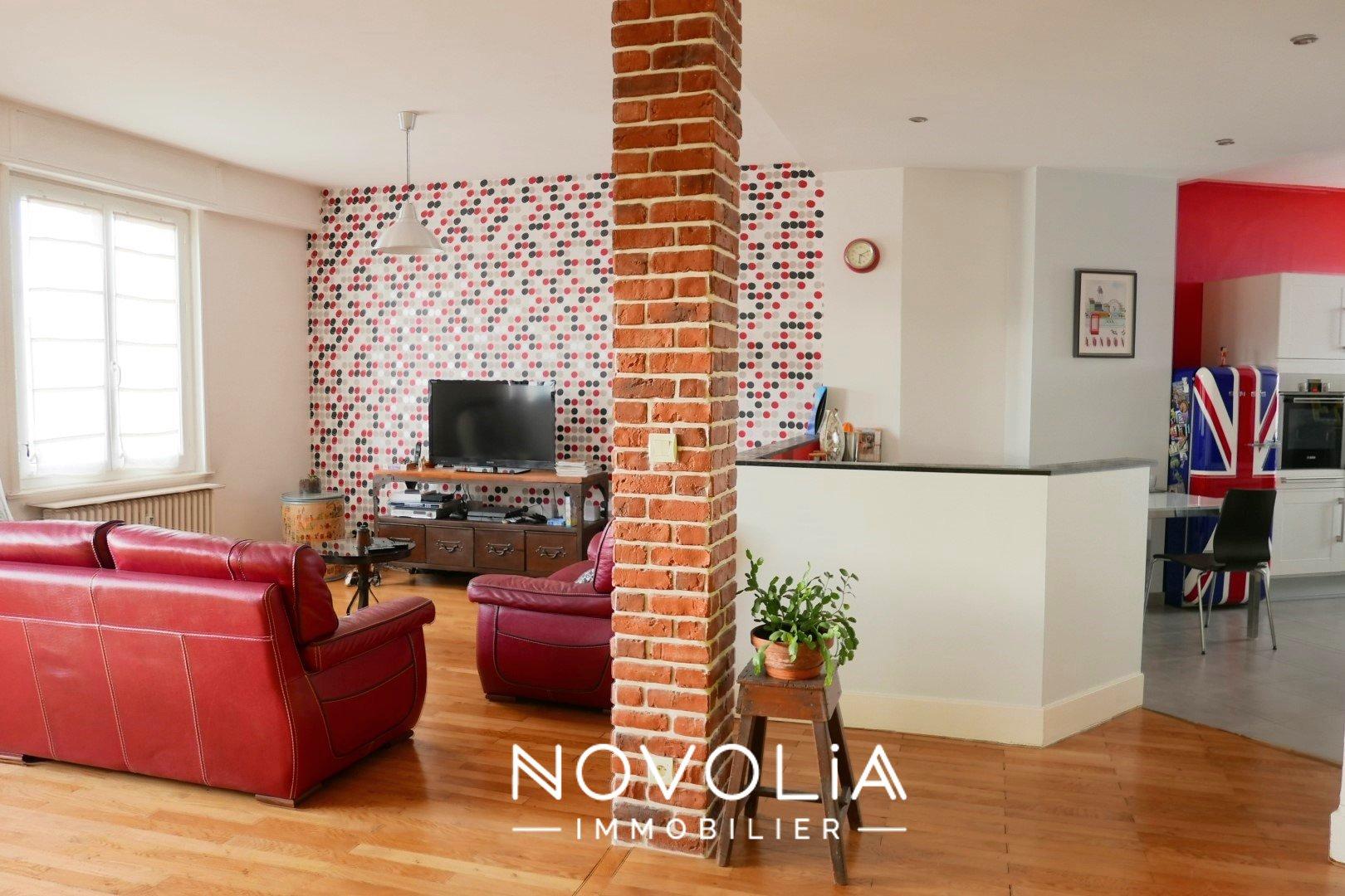 Achat Appartement, Surface de 102.1 m²/ Total carrez : 102 m², 3 pièces, Lyon 7ème (69007)