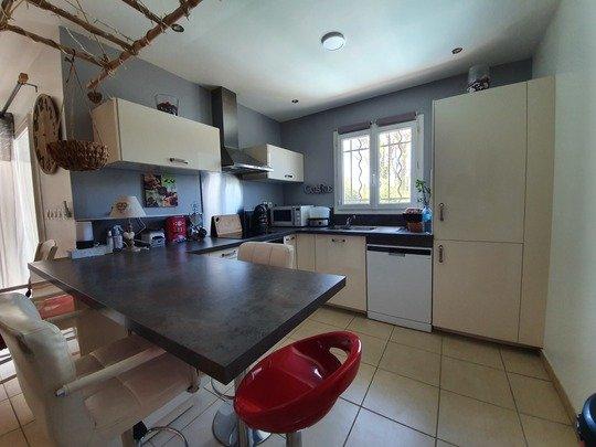 Dpt Gard (30), à vendre MONTPEZAT maison P5 de 94 m² - Terrain de 171,00 m²,garage ,piscine hors sol