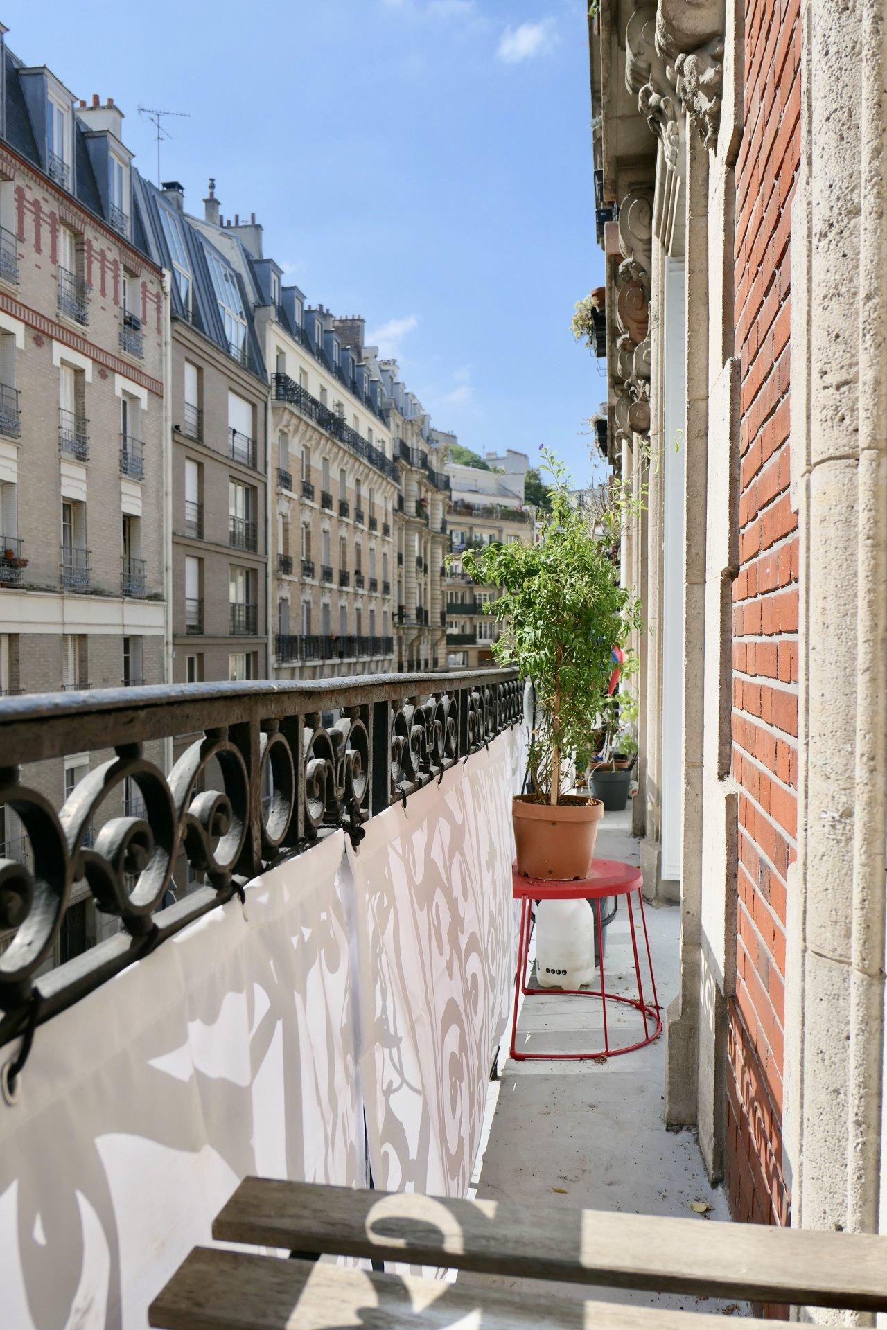 3 Pièces - Balcon - Lamarck Caulaincourt