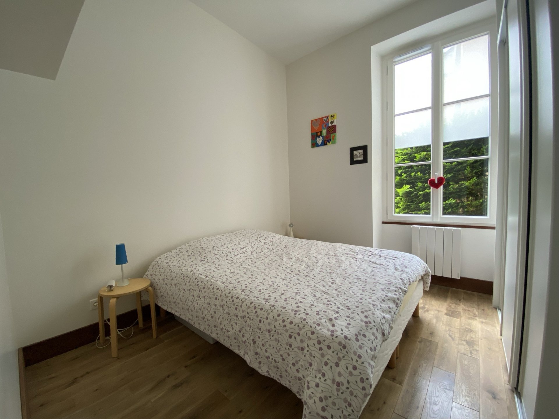 Appartement F5 avec jardin privatif et box
