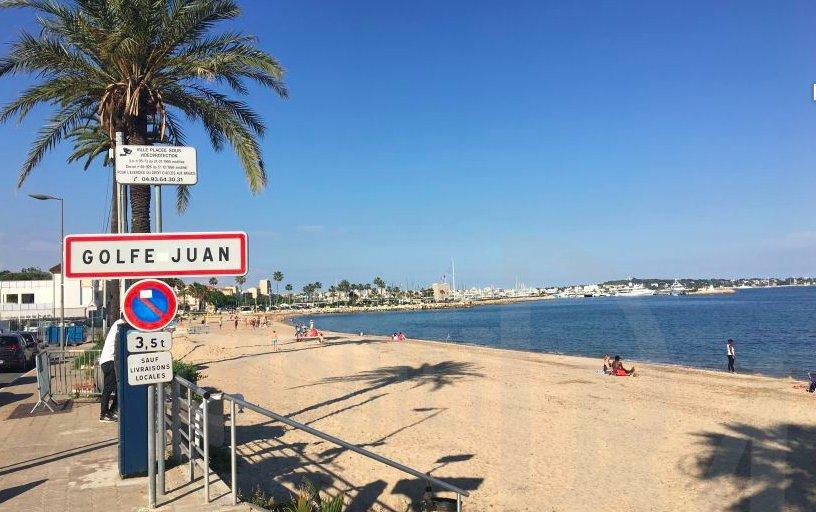 Golfe - Juan  / proche de la mer