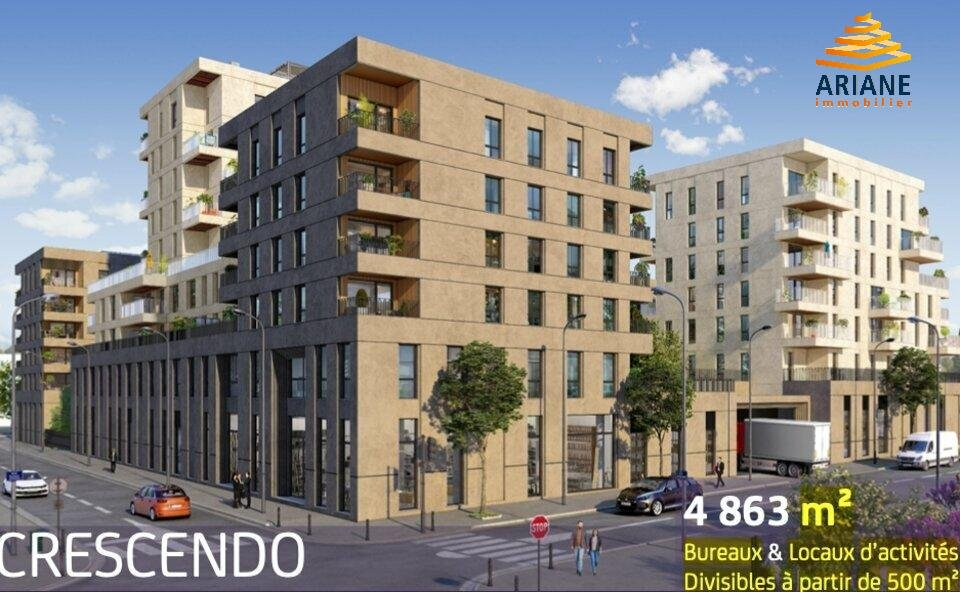 vente/location bureaux 4863 m2 CRESCENDO - VILLEURBANNE