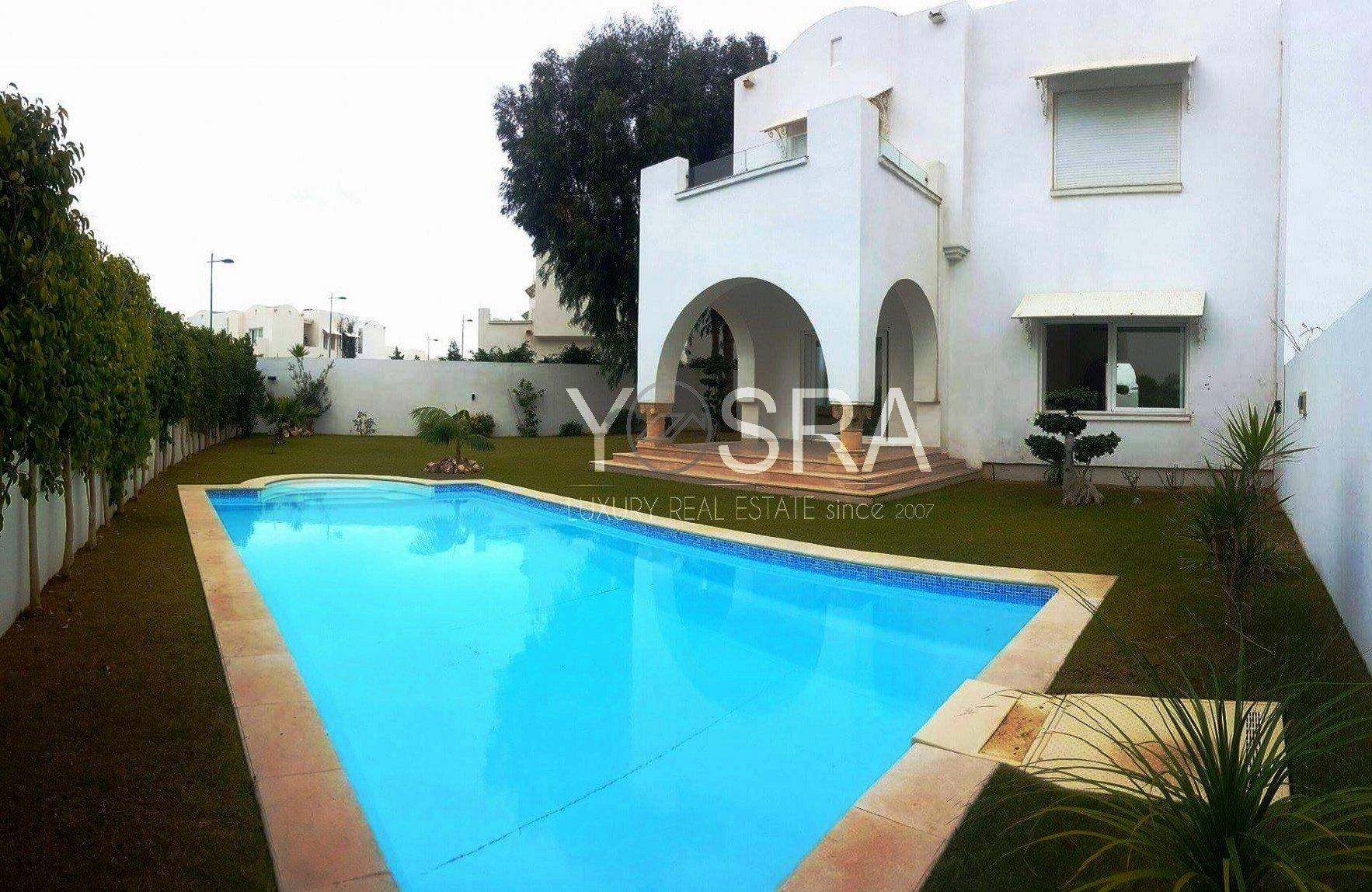 Villa avec piscine à la Marina Gammarth