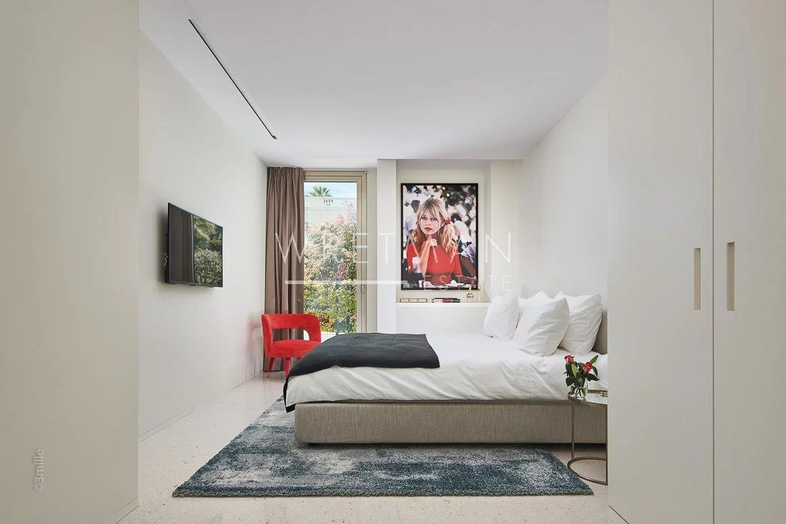 Fantastisk ny modern villa med havsutsikt - Cannes Basse Californie