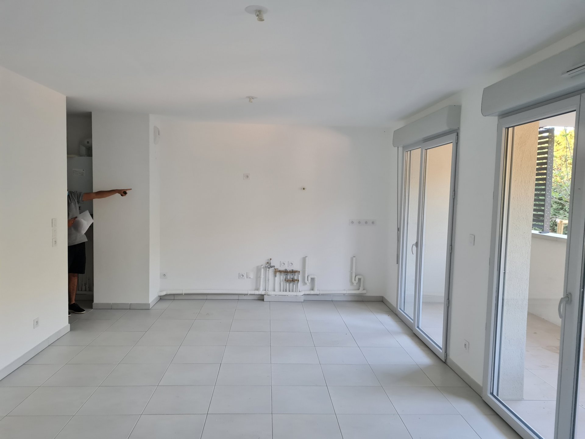 Appartement Type 2, 44.17, 1 chambre, terrasse, parking double