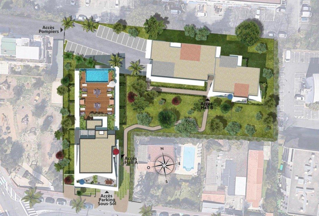 VILLENEUVE LOUBET Plage - Côte d'Azur - vente appartement - dernier étage -  proche mer