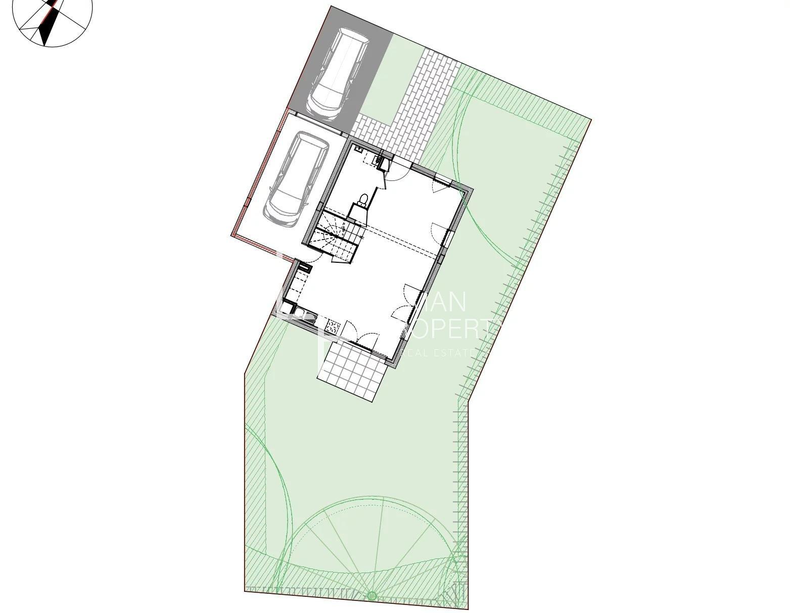 Vente de appartement à Perrignier au prix de 396600€