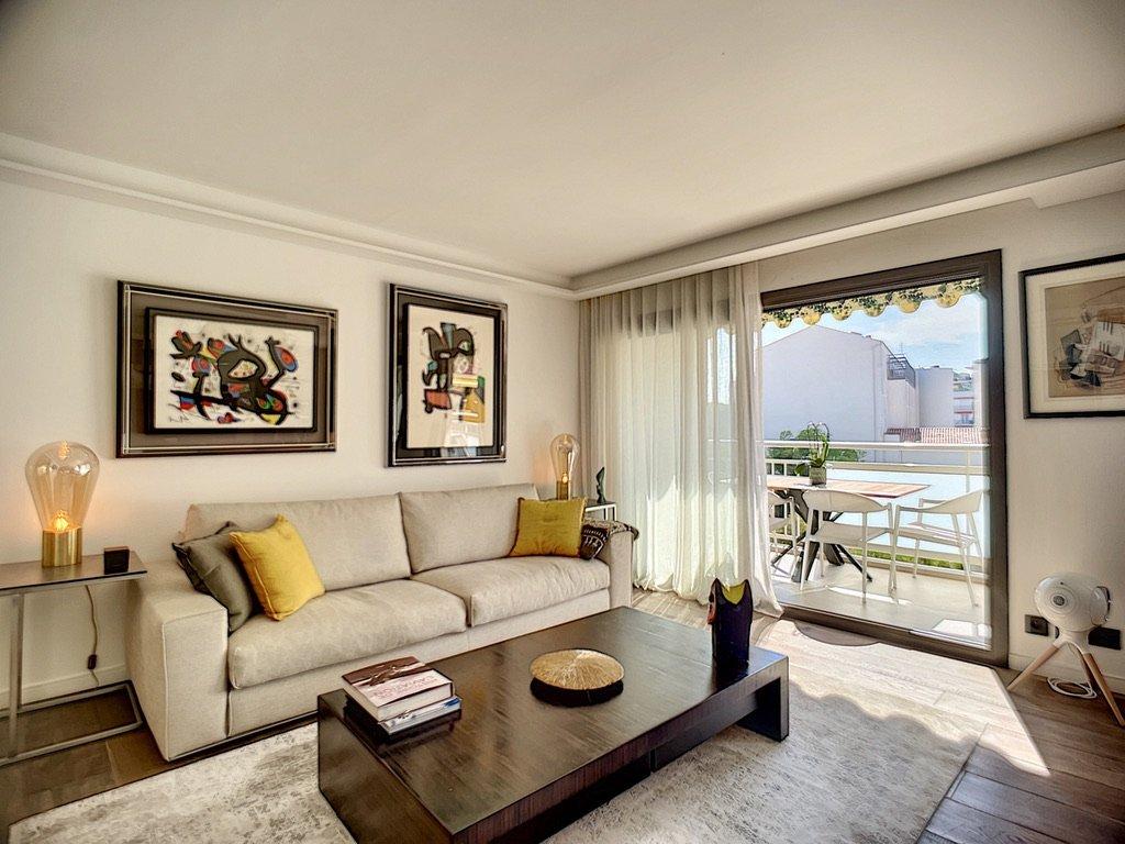 Cannes ı Croisette Banane ı Helt renoverad 2-sovrums lägenhet - Cannes Croisette