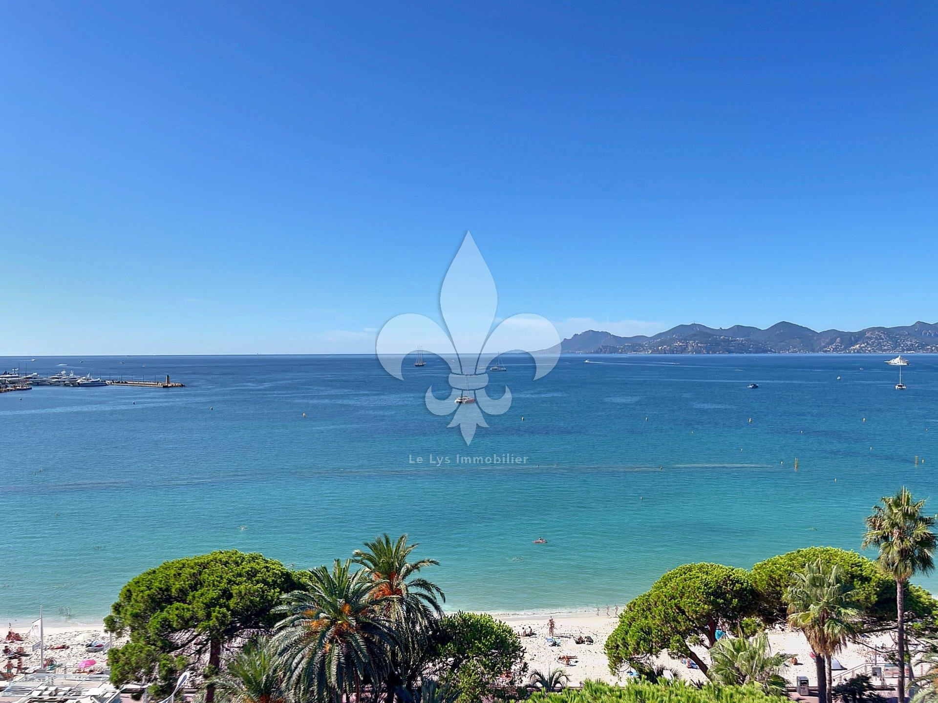 Cannes - Croisette: Superb penthouse to renovate
