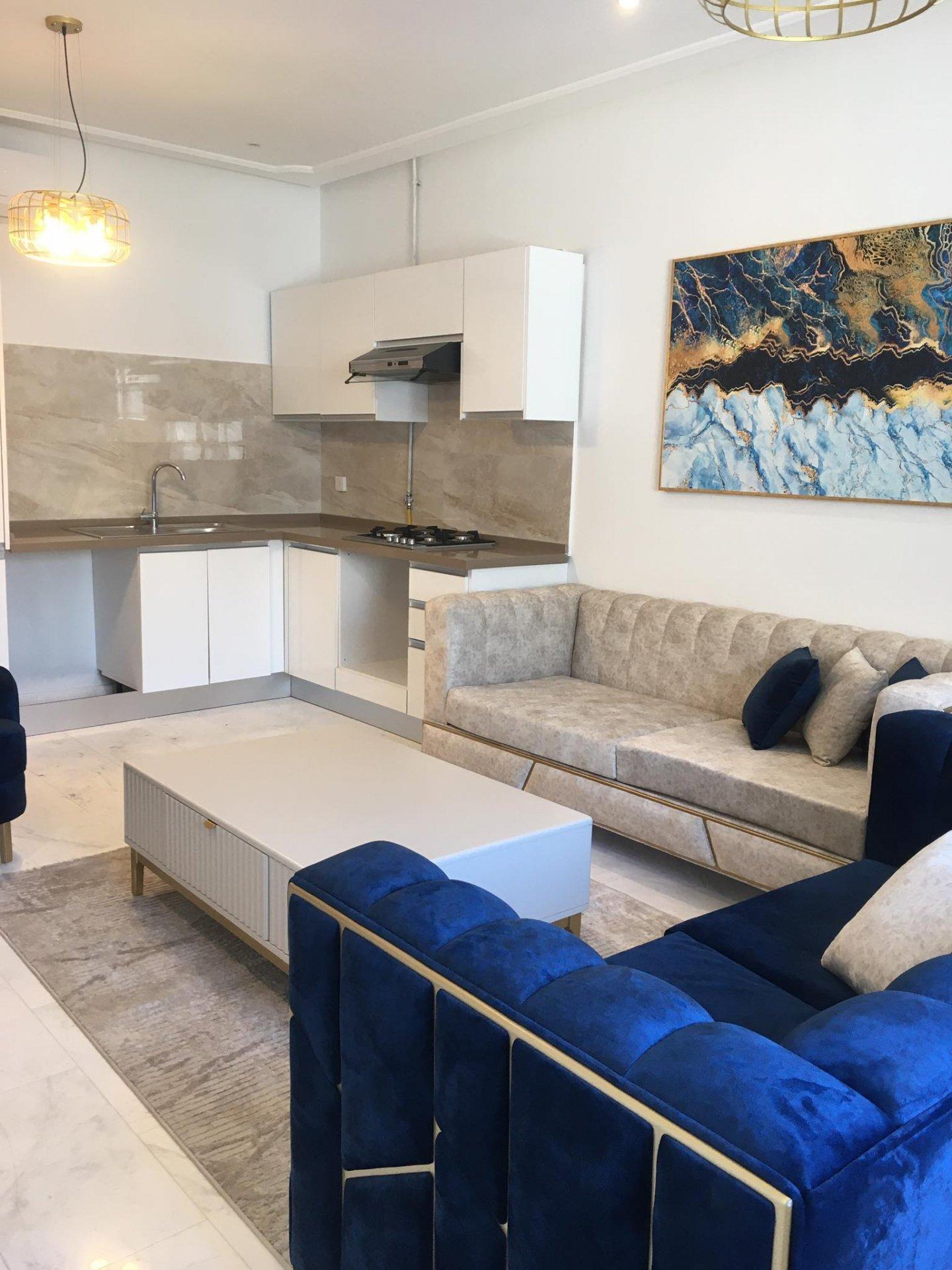 Location Appartement S+2 meublé La Marsa Ville.