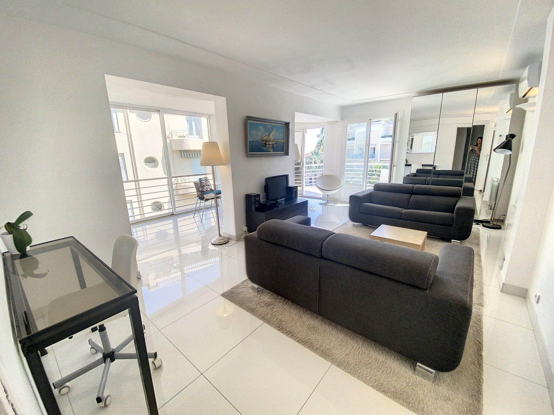 cannes Palm Beach / Croisette 3p 57 m2