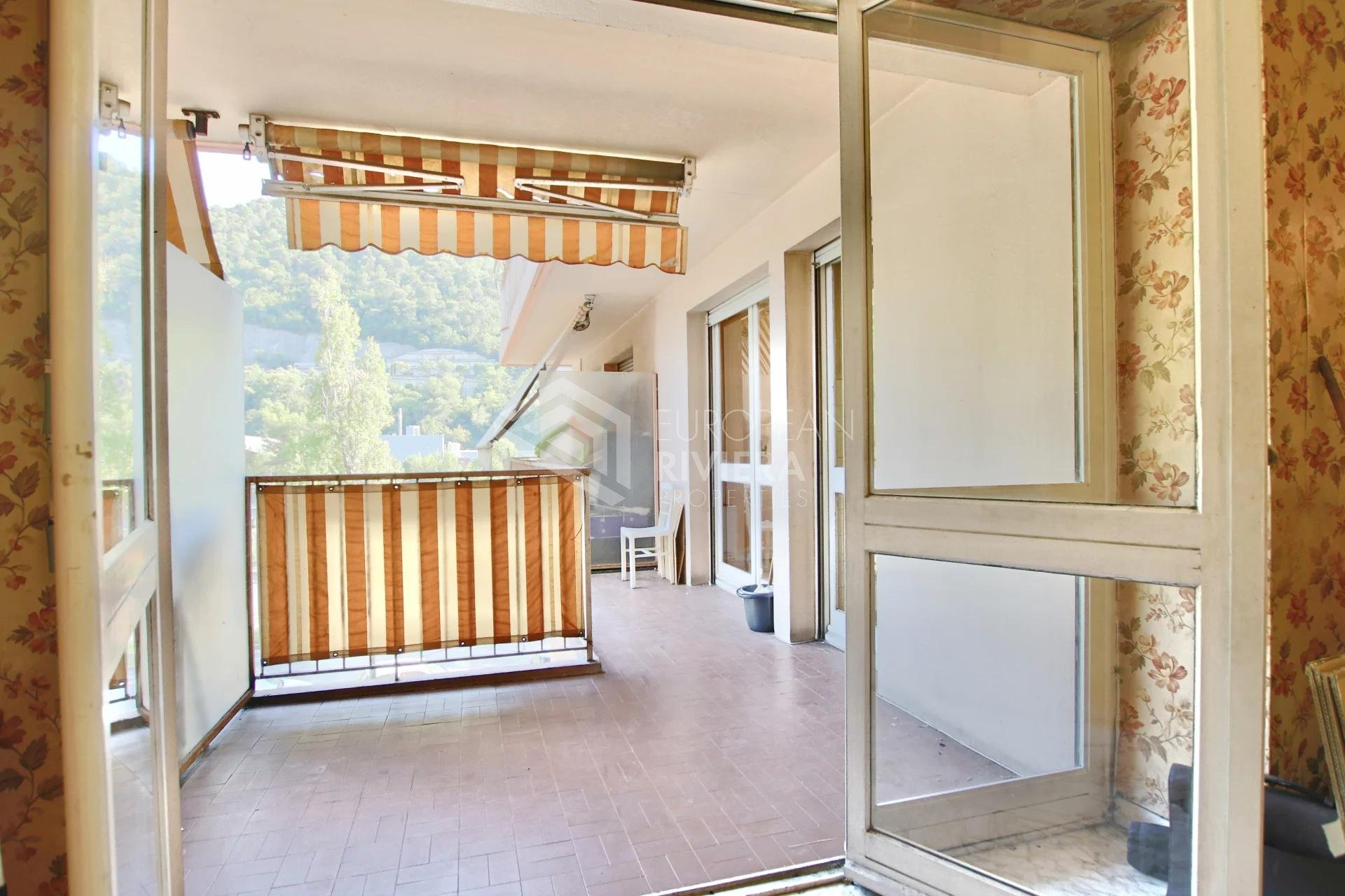 ARIANE : 2/3P de  57 m2 avec terrasse : investissement parfait