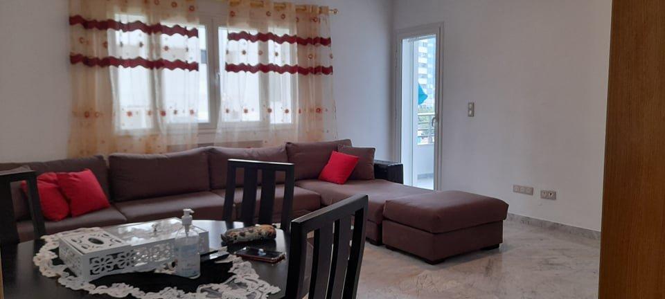 Location Appartement S+2 meublé au  centre urbain nord .