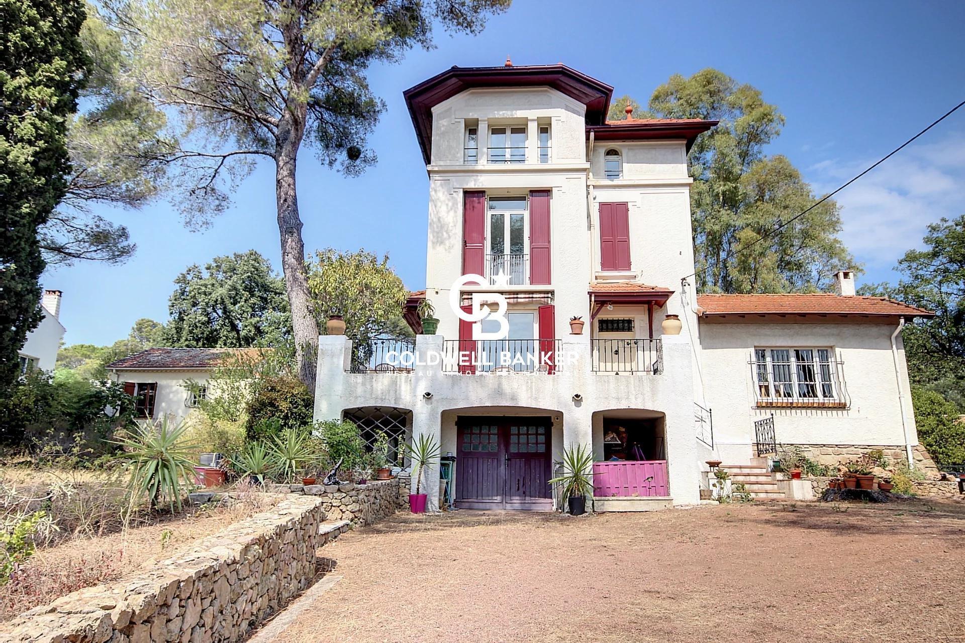 Villa Belle Époque vue mer