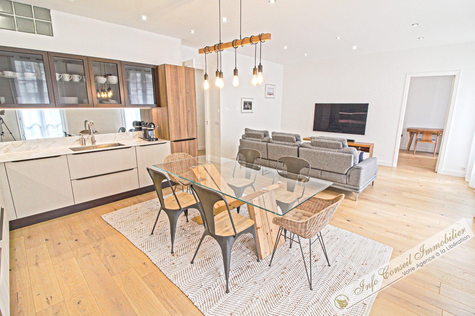 LIBERATION - Bourgeois - Splendide 4P 100 m² - refait neuf ! - cave - 479.000 €
