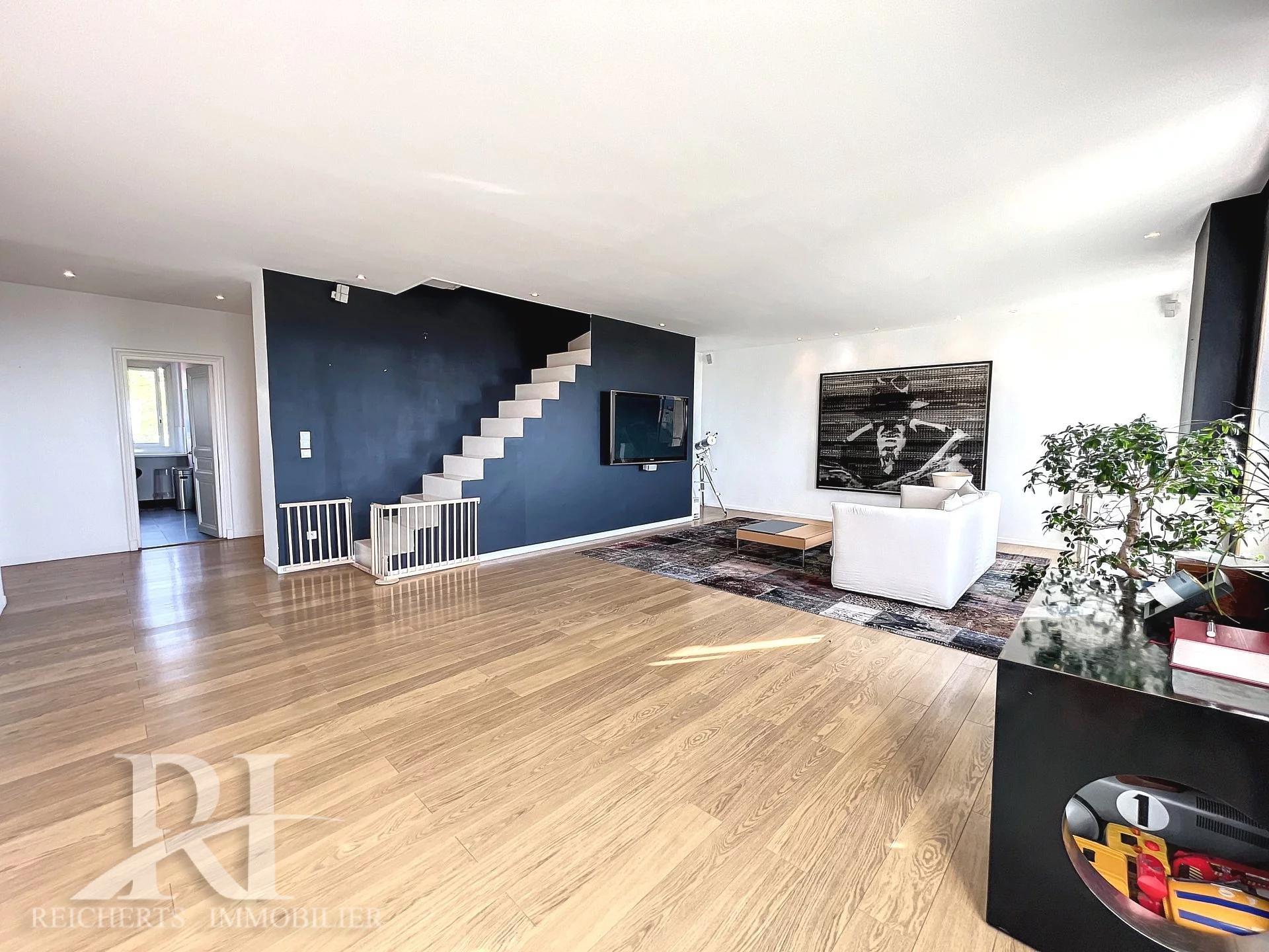 Cannes Tassigny 5p dernier étage de 173 m2 avec vue mer panoramique