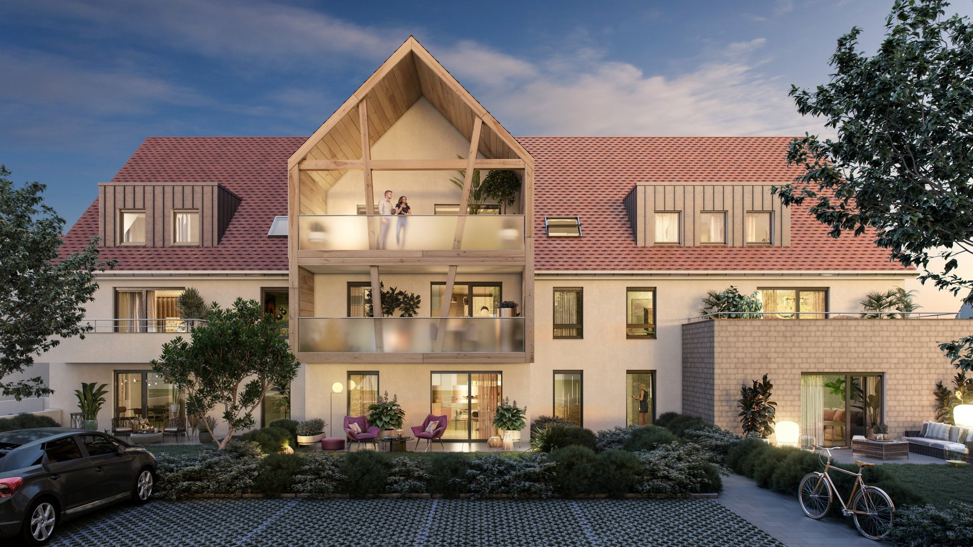 T3 de 67m² avec sa terrasse de 30m² !!!