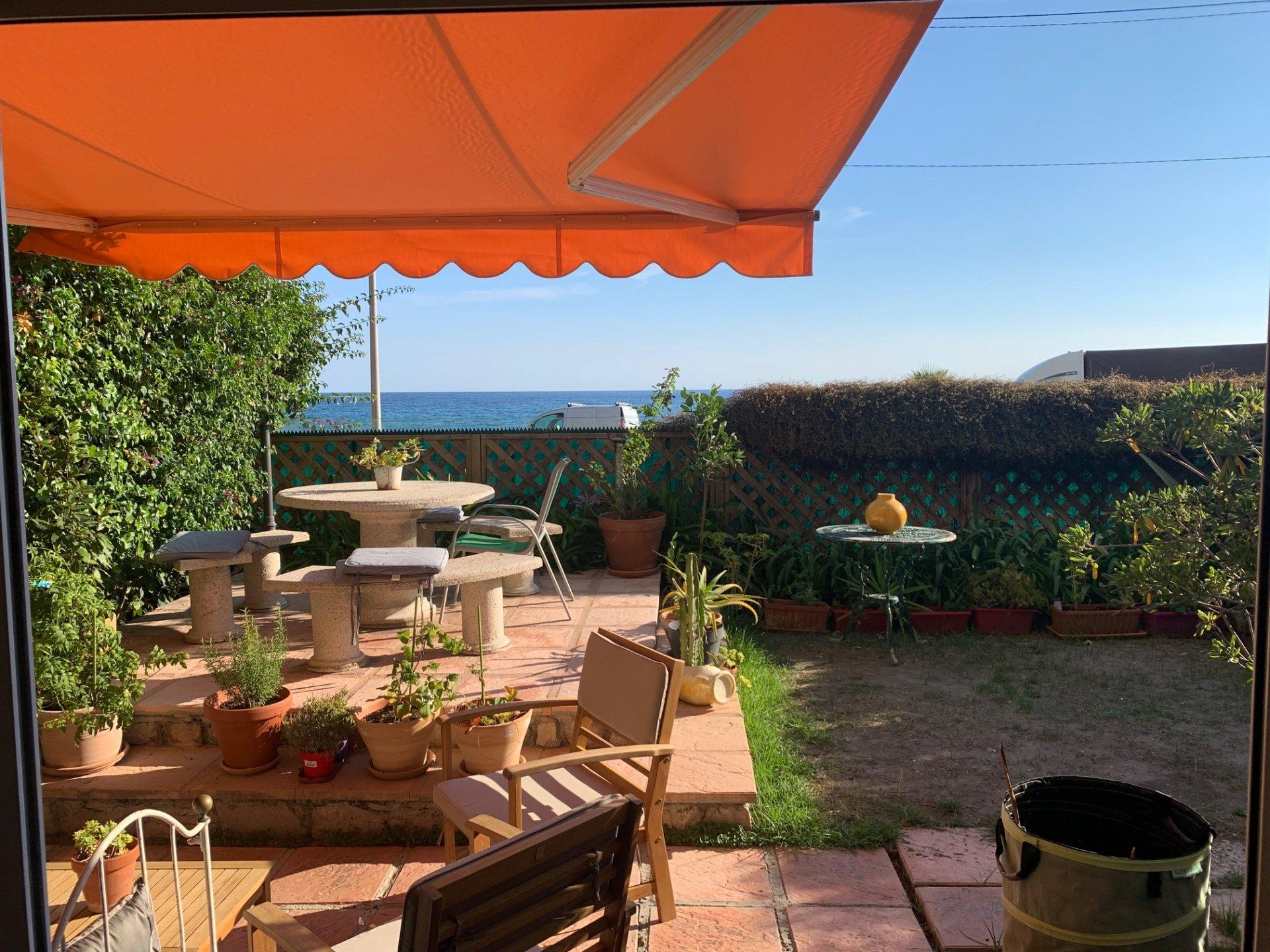 EXCLUSIF- Menton garavan- Vue Mer-  Spacieux T3 de 124m² avec Vérandas, 2  larges Terrasses/Jardin- Garage